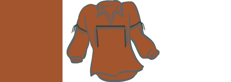 sample of colour brown